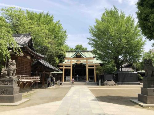 祝・結婚式でお世話になっている牛嶋神社の鳥居が完成!