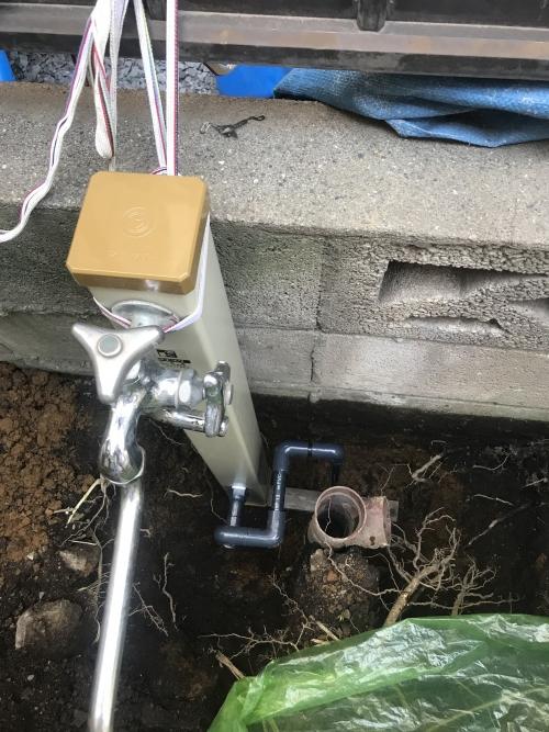さいたま市大宮区にて水道修理実施。