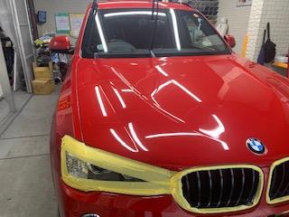 BMW  x3  磨き終了