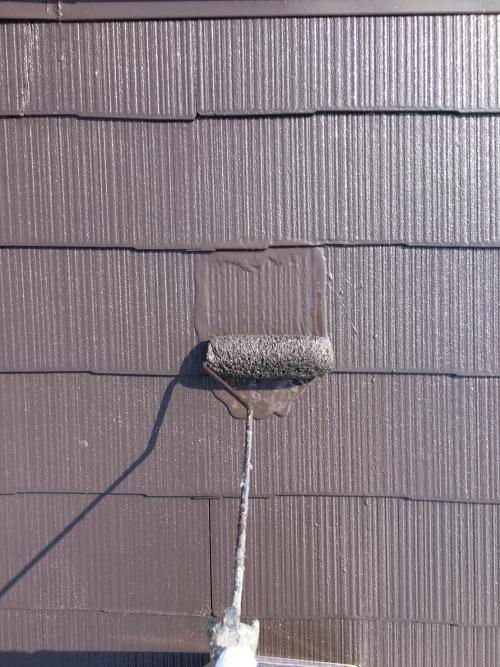 新座市屋根上塗り施工