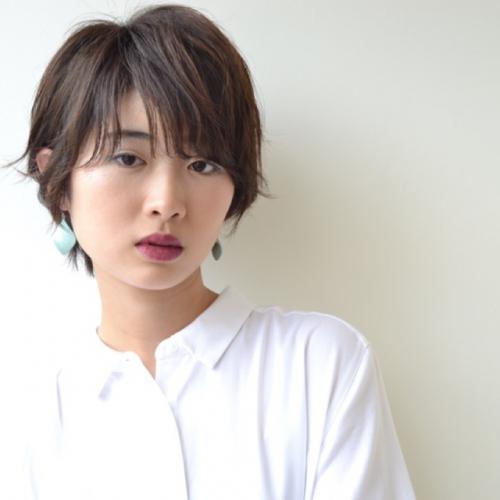 大人の外ハネショート〜フロント編〜☆
