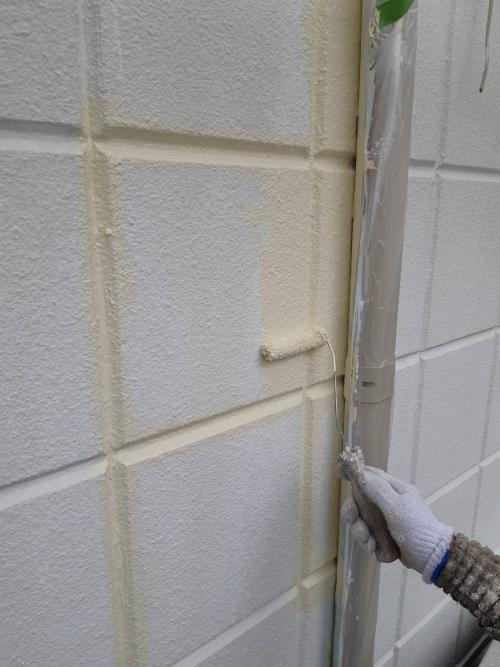 さいたま市中塗り施工