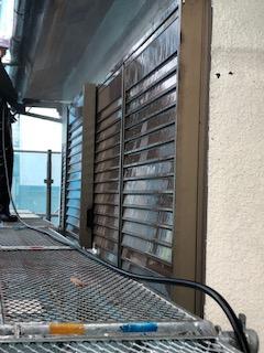 坂戸市で外壁高圧バイオ洗浄工事を施工しました