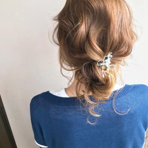浴衣ヘアアレンジにもピッタリなまとめ髪
