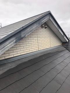 鶴ヶ島市で塗装前の屋根点検してきました