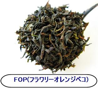 茶葉の大きさによる分類