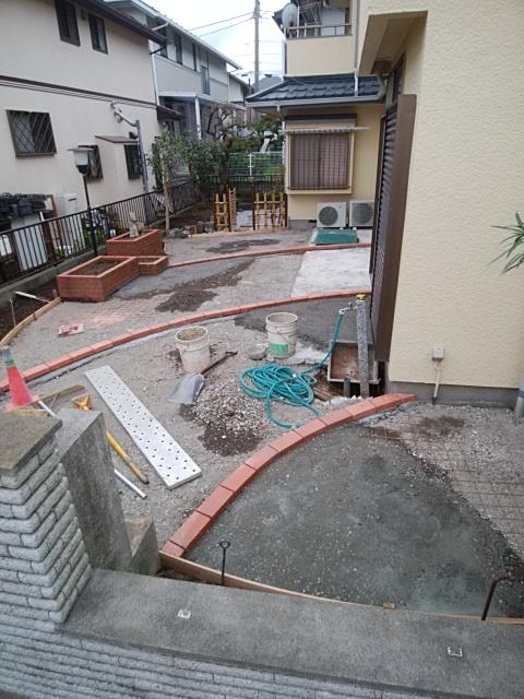 金沢区で庭の改修工事