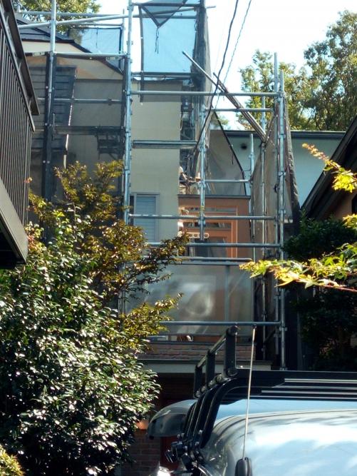 東京都杉並区某所塗装工事