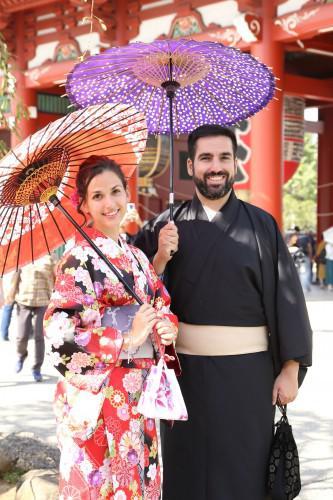 浅草観光&新婚旅行の思い出に出張スナップはいかが!