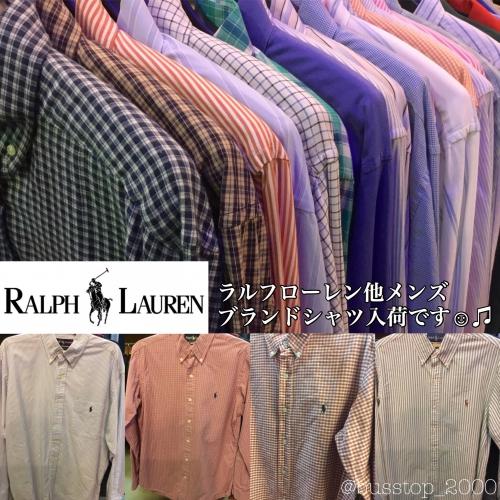 ラルフローレン他メンズブランドシャツ入荷です!