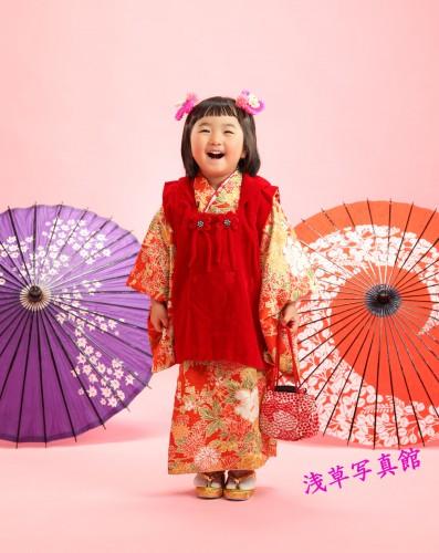 浅草で残す笑顔いっぱいの七五三写真