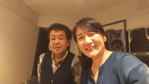 「和らぎ紫子ボーカル教室」の紫子先生と!