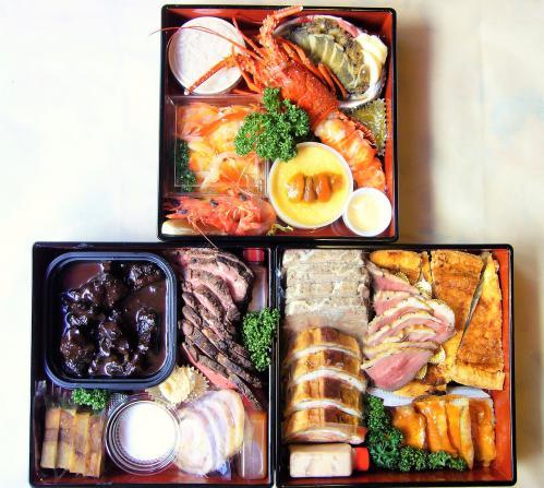 フランス料理の「特製おせち」ご予約受付中!
