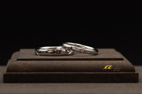 職人が作る究極の鍛造結婚指輪は千葉のアキラジュエリー