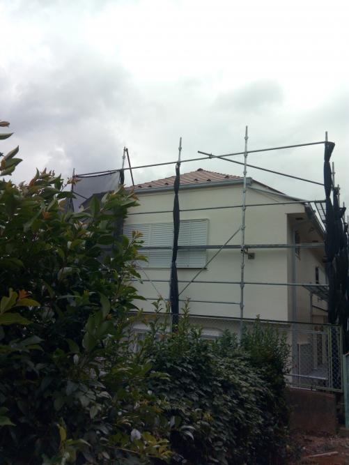 川崎市宮前区某所塗装工事