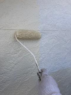 坂戸市で無機塗装工事を施工しました