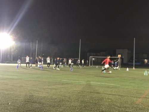 水戸市ジュニアユースチームポルターラ11月練習会セレクション