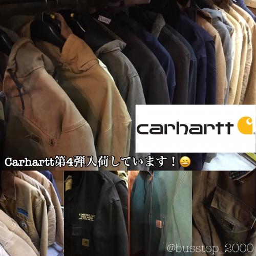 Carharttジャケット第4弾入荷です!