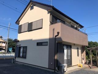 鶴ヶ島市で外壁サイディング塗装工事が完了致しました