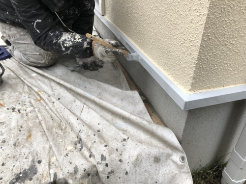 青葉区美しが丘西U様邸屋根・外壁塗り替え工事