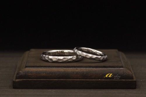 海外にお住まいのお客様、結婚指輪のご注文でした