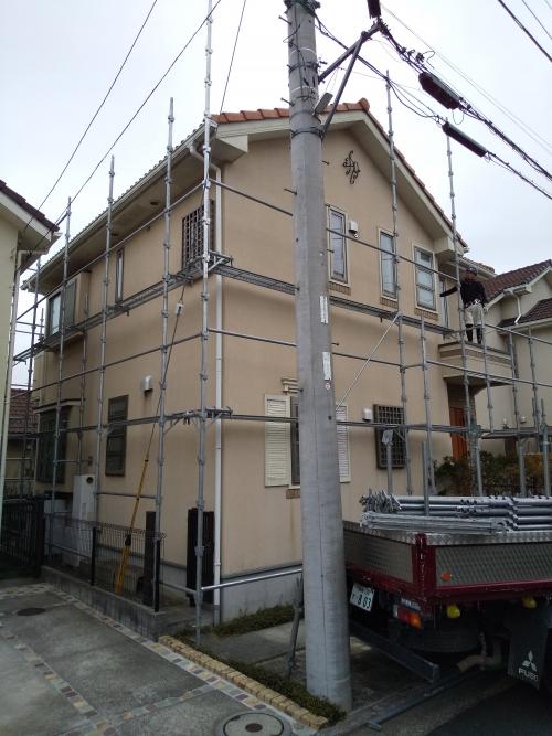青葉区美しが丘西Y様邸外観塗り替え工事
