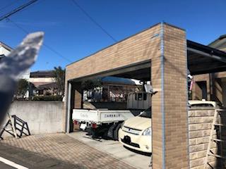 嵐山町でガレージのシーリング工事を施工してきました