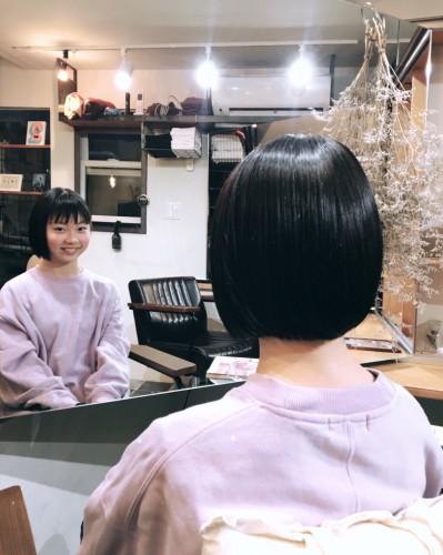 ボブ 中学生 カット 代官山美容室