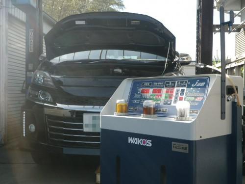ヴェルファイヤATFクラウンNV350車検エクストレイル修理