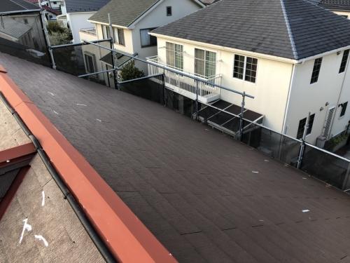 青葉区美しが丘西S様邸屋根・外壁塗り替え工事