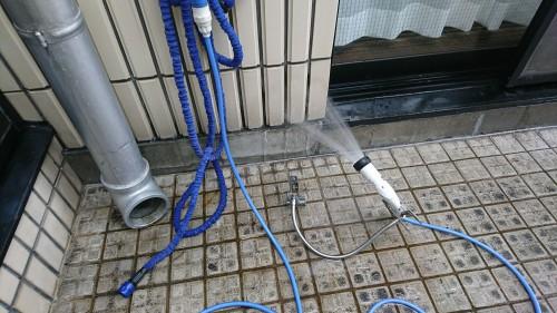 練馬区氷川台で雨漏り調査を実施しました!