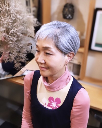 大人の ショート スタイル 代官山 恵比寿 美容室