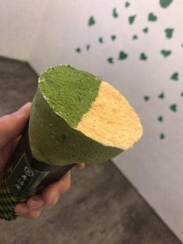 浅草にある抹茶クレープ専門店「寿清庵」