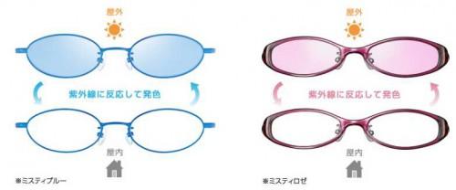 色の変わるレンズ「調光レンズ」ご存知ですか?