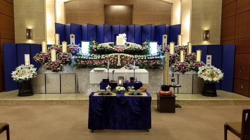 所沢斎場でのお葬儀