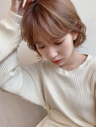 ミルクティーベージュ×ボブ 【 ニシムラ カナ 】