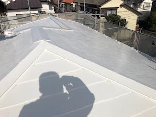 鶴ヶ島市で屋根の遮熱塗装工事を施工しました