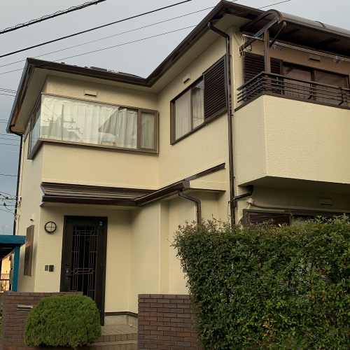 鴻巣市外壁屋根リフォーム完了