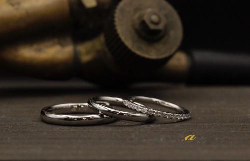 市川市からご来店のお客様結婚指輪のご注文でした