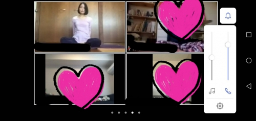 Online Lesson      佐賀ヨガ maiko