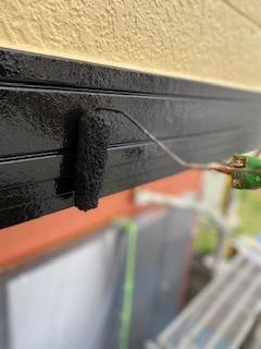 鳩山町で付帯部塗装工事をしてきました