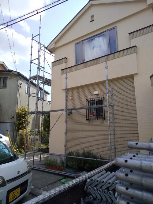 青葉区美しが丘西I様邸屋根・外壁塗り替え工事