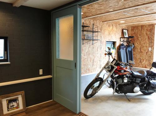 茅ヶ崎市でバイク好きが建てる注文住宅。実績十分の工務店。