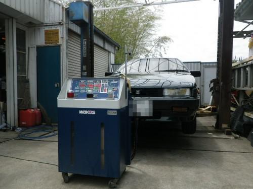 いすゞJR120ピアッツァネロ トルコン太郎でATF交換