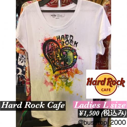 Hard Rock CafeレディースTシャツ入荷です!
