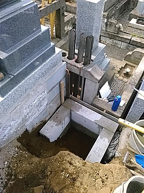 お墓の造り方