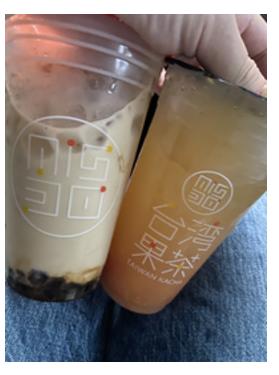 ミスドの台湾茶