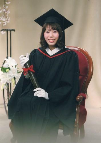 卒業写真:綺麗に良い表情で撮って頂いて良かったです!