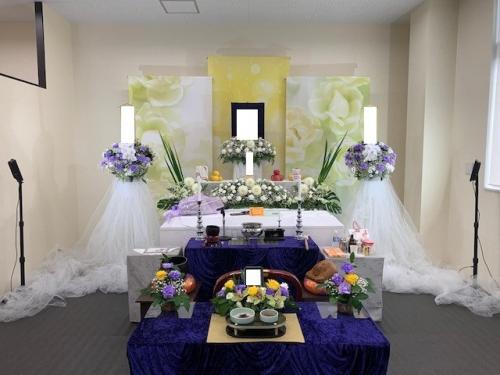 モアサポートにて家族葬