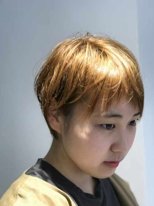 前髪カット  調布 国領 美容院